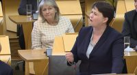 "The phrase ""people in glass houses shouldn't throw stones"" has seldom seemed as apt as at today's First Minister's Questions in Holyrood. Ruth Davidson rose to her feet and asked […]"