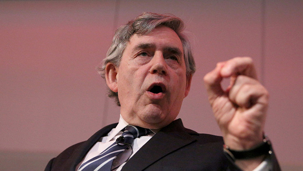 "Gordon Brown, the ex-politician, famously described as ""the clunking fist"", for his lack of subtlety and love of a doom-laden headline got more than he bargained for when he emerged […]"